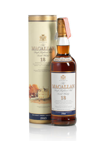 The Macallan-1985-18 year old
