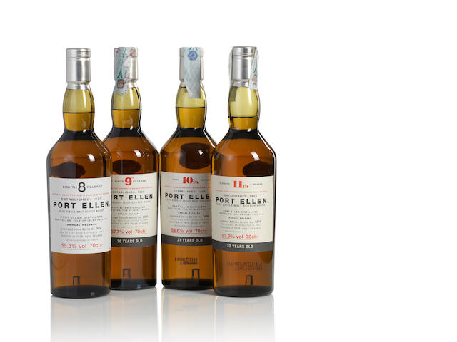 Port Ellen-8th Release-1978-29 year old (1)   Port Ellen-9th Release-1979-30 year old (1)   Port Ellen-10th Release-1978-31 year old (1)   Port Ellen-11th Release-1979-32 year old (1)