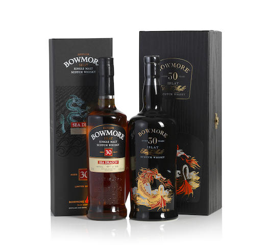 Bowmore Sea Dragon-30 year old 1   Bowmore Sea Dragon-30 year old 1