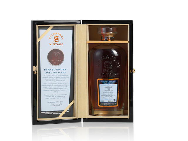 Bowmore-1970-40 year old