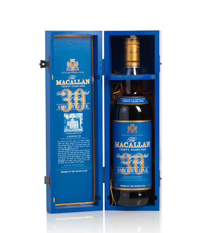 The Macallan Blue Label-30 year old