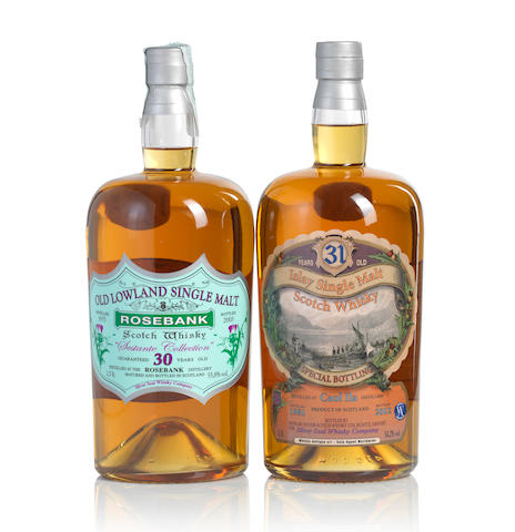 Rosebank-1975-30 year old (1)   Caol Ila-1981-31 year old (1)