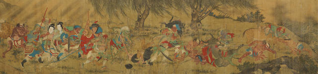 Anonymous (Yuan/Ming Dynasty) Searching for Demons in the Mountain