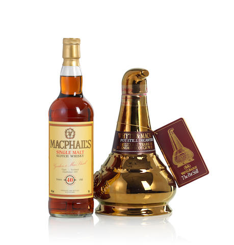 Macphail's-40 year old (1)   Whyte & Mackay Gold Pot Still Decanter (1)