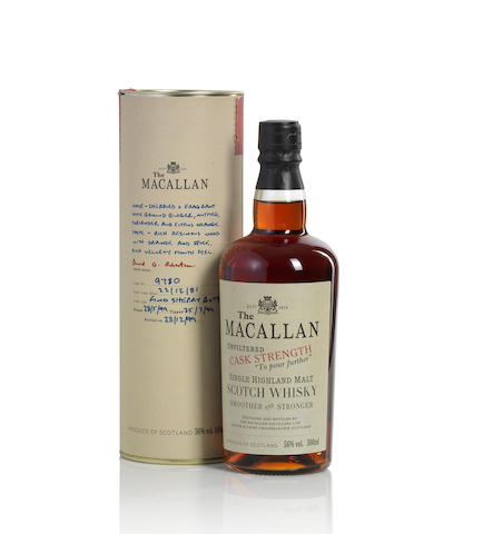 The Macallan Cask Strengh-1981