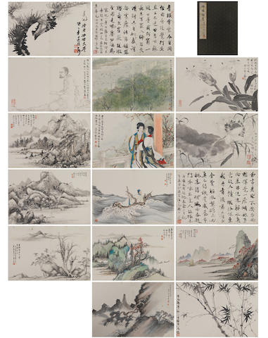 Deng Fen (1894-1964) and Others Various Subjects