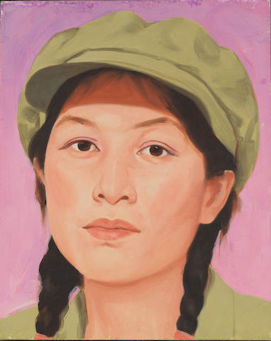 Qi Zhilong (b.1962) Chinese Girl Series