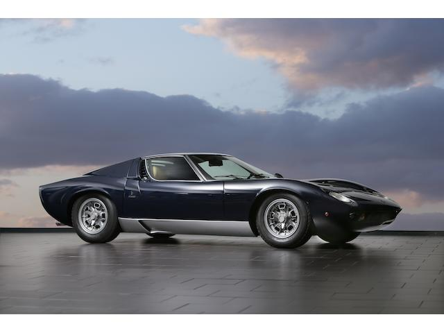 Factory restored under the supervision of Valentino Balboni,1968  Lamborghini  Miura P400  Chassis no. 3739