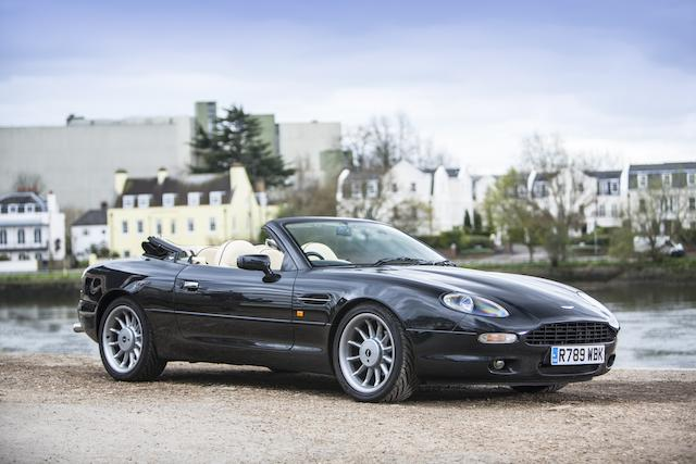 Two owners from new,1997 Aston Martin DB7 Volante  Chassis no. SCFAA3114VK201794 Engine no. AM/04 01582