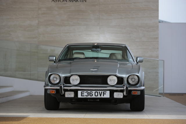 1988 Aston Martin V8 Series 5 Sports Saloon, Chassis no. SCFCV8159JTR126592 Engine no. V/580/2592