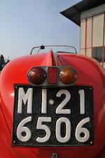 Coppa d'Oro - ex Mille Miglia 1935,1934  Fiat 508 S Balilla  Chassis no. 043481 Engine no. 7068450