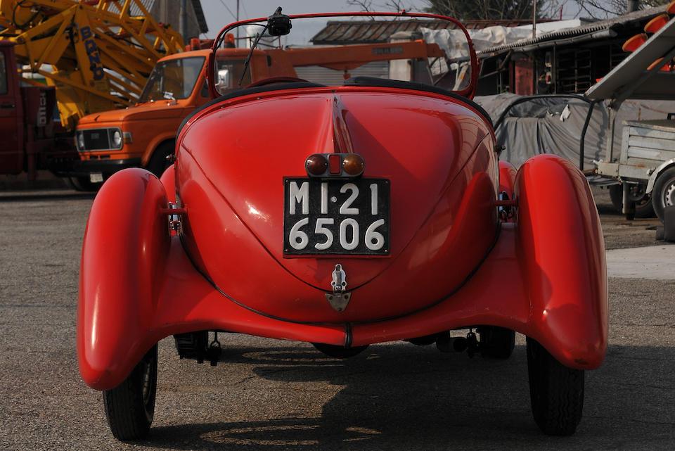 1935 Mille Miglia participant,1935 FIAT 508S Balilla 'Coppa d'Oro' Spider  Chassis no. 043481 Engine no. 7068450