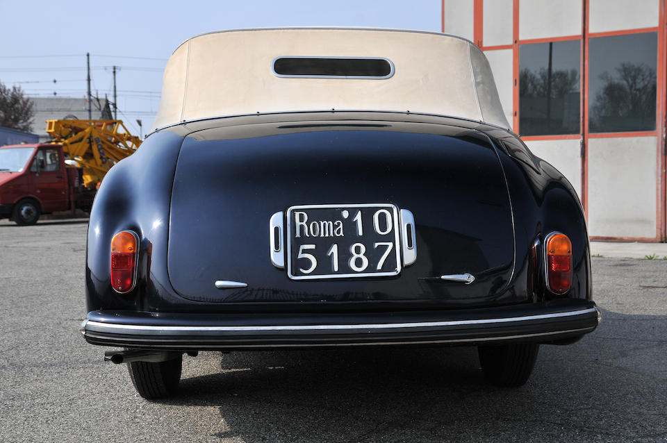 1947 Alfa Romeo 6C 2500 Sport Cabriolet  Chassis no. 915276 Engine no. 926071