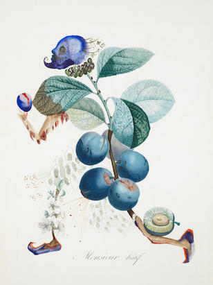 Salvador Dalí (1904-1989) Prunier hâtif (Hasty Plum)