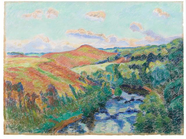 Armand Guillaumin (1841-1927) Le Puy Barriou, paysage de la Creuse