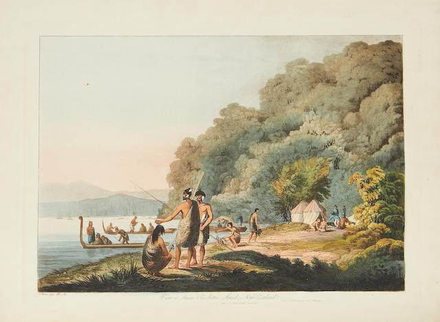 WEBBER (JAMES) View in the South Seas... from the Year 1776 to 1780. With Letter-press, Descriptive of the Various Scenes, 1808 [but 1820]