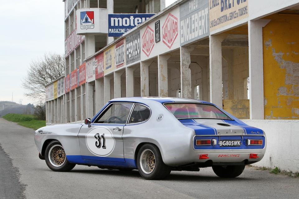 1972 Ford Capri RS2600 Group 2 Competition Coupe  Chassis no. GAECMG87660
