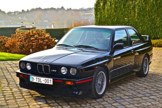 1990 BMW M3 E30 EV03  Chassis no. WBSAK07030AC79387