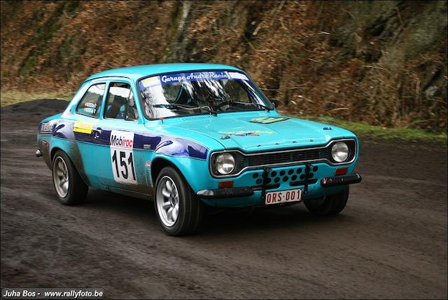 1969 Ford Escort R5 2000  Chassis no. GBATJR49350