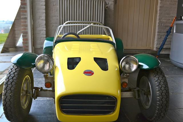 'Lotus Seven' Child's Car by Tony Gillett