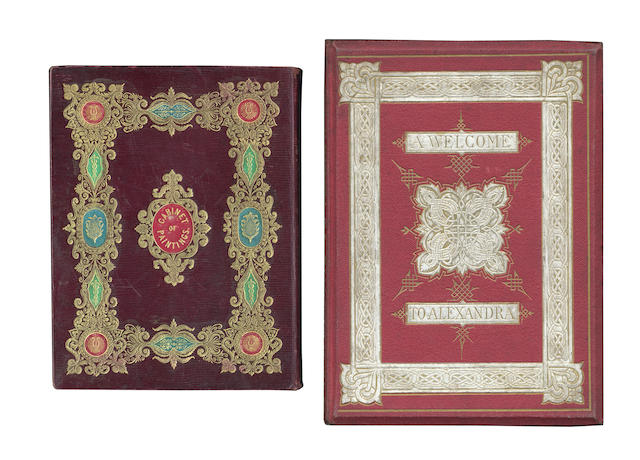 BAXTER (GEORGE) The Pictorial Album; or, Cabinet of Painting, for the Year 1837, 1837; JONES. A Welcome, 1863 (2)