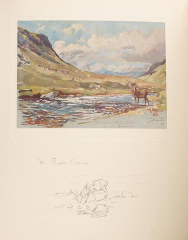 EDWARDS (LIONEL) My Scottish Sketchbook, Country Life, 1929