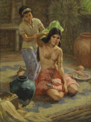 Fernando Amorsolo (Filipino, 1892-1972) Princess Urduja