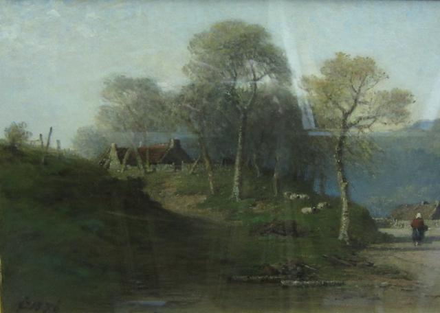 James Cassie (British, 1819-1879) By the wayside, Braeamar
