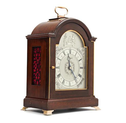 A Garrard Silver Jubilee bracket clock, 1977