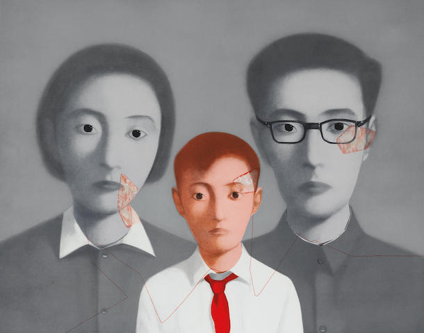 Zhang Xiaogang (b.1958) Bloodline: Big Family Series