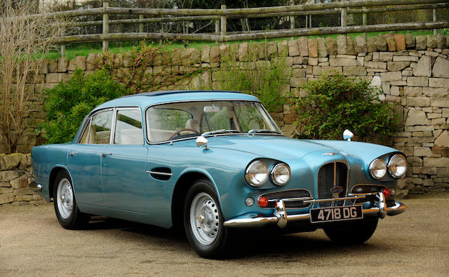 1963 Aston Martin Lagonda Rapide Sports Saloon, Chassis no. LR/129/R Engine no. 400/129