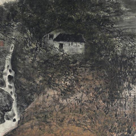 He Huaishuo (b.1941) Autumn Dusk