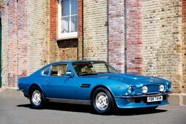 Bonhams Originally The Property Of Aston Martin Chairman Victor Gauntlett Amoc Concours Winning 1980 Aston Martin V8 Vantage Sports Saloon Chassis No V8 Vor 12270 Engine No V 580 2270 V