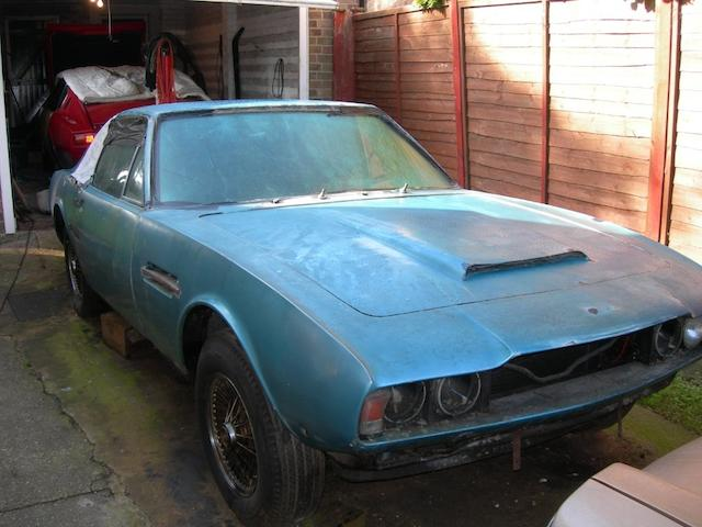 1969 Aston Martin DBS Sports Saloon Project, Chassis no. DBS/5277/R Engine no. 400/3970/S
