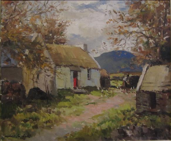 Maurice Canning Wilks R.U.A., A.R.H.A. (Irish, 1910-1984) Near Creeslough, Co. Donegal