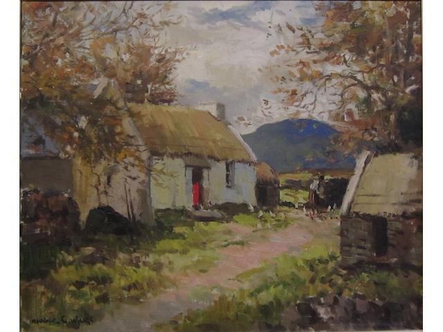 Maurice Canning Wilks R.U.A., A.R.H.A. (Irish, 1910-1984) Near Creeslough, Co. Donegal