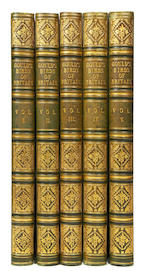 GOULD (JOHN) The Birds of Great Britain, 5 vol., FIRST EDITION, SUBSCRIBER'S COPY, [1862]-1873