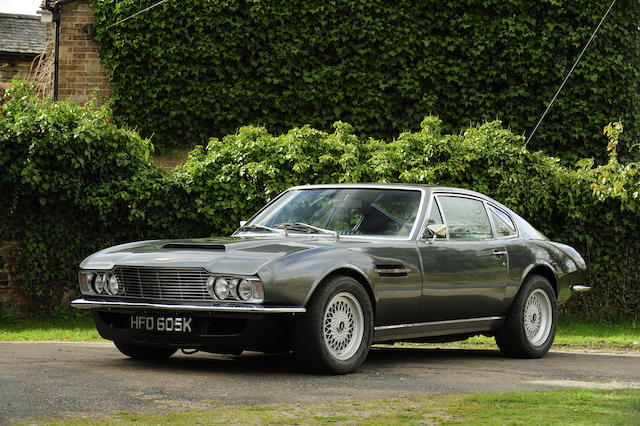 1971 Aston Martin DBS V8 Automatic Sports Saloon, Chassis no. DBSV8/10290/R Engine no. V540/268