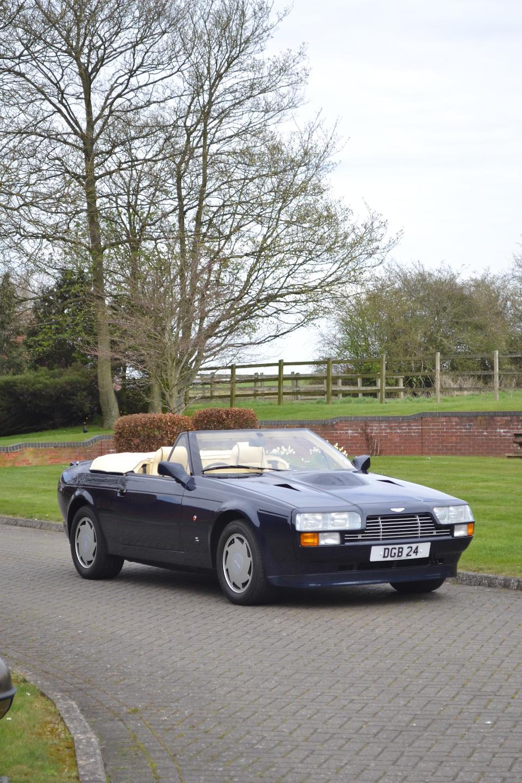 The first of only five made,1989 Aston Martin V8 Zagato Vantage Volante  Chassis no. 30041 Engine no. V/580/0041/X