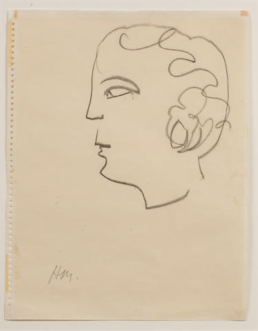 Henri Matisse - subject to the confirmation of authentcity, estimate to be confirmed.