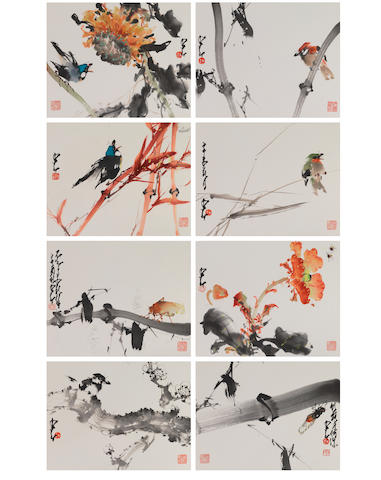 Zhao Shao'ang (1905-1998) Birds and Insects