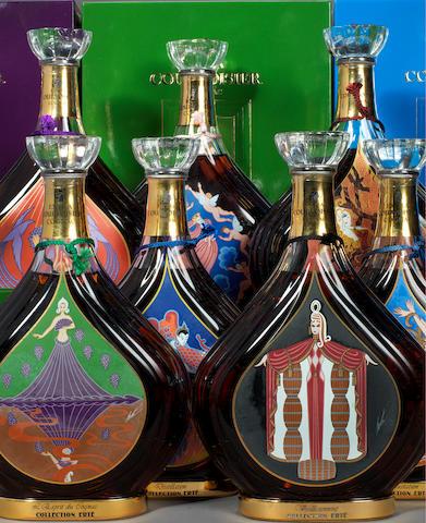 Courvoisier Cognac Erté No. 1 'Vigne' (1)<BR />Courvoisier Cognac Erté No. 2 'Vendanges' (1)<BR />Courvoisier Cognac Erté No. 3 'Distillation' (1)<BR />Courvoisier Cognac Erté No. 4 'Vieillissement' (1)<BR />Courvoisier Cognac Erté No. 5 'Dégustation' (1)<BR />Courvoisier Cognac Erté No. 6 'L'Esprit de Cognac' (1)<BR />Courvoisier Cognac Erté No. 7 'La Part des Anges' (1)