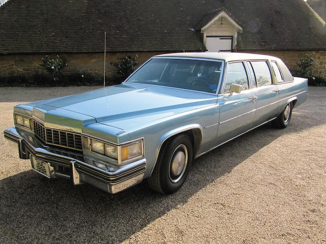 1977 Cadillac Fleetwood Limousine  Chassis no. 6F23S7Q254636