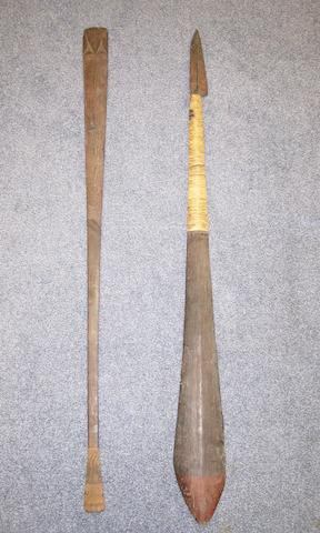 Two Melanesian artefacts, 2