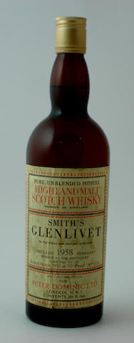 Glenlivet (Smith's)-12 year old-1958
