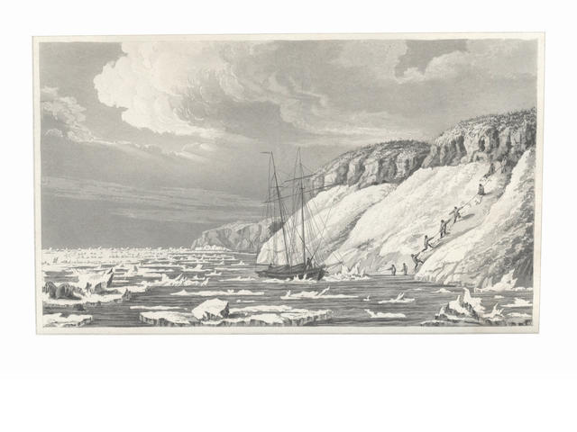 BEECHEY (FREDERICK WILLIAM) Narrative of a Voyage to the Pacific and Beering's Strait, to co-operate with the Polar Expeditions: performed in H.M.S. Blossom, FIRST EDITION, 1831