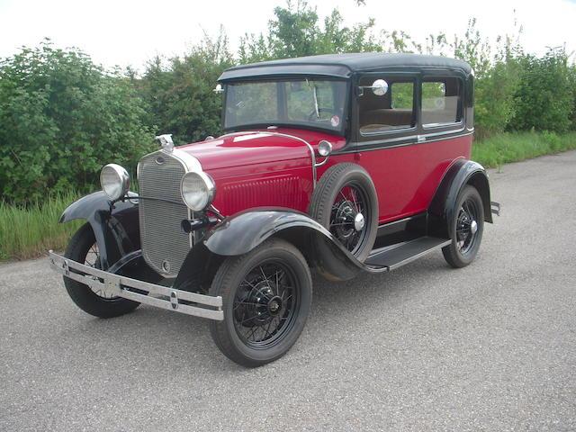 1930 Ford Model A Tudor