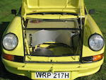 Francis Tuthill prepared,1970 911 3.0-Litre Rally Car  Chassis no. 9110120812
