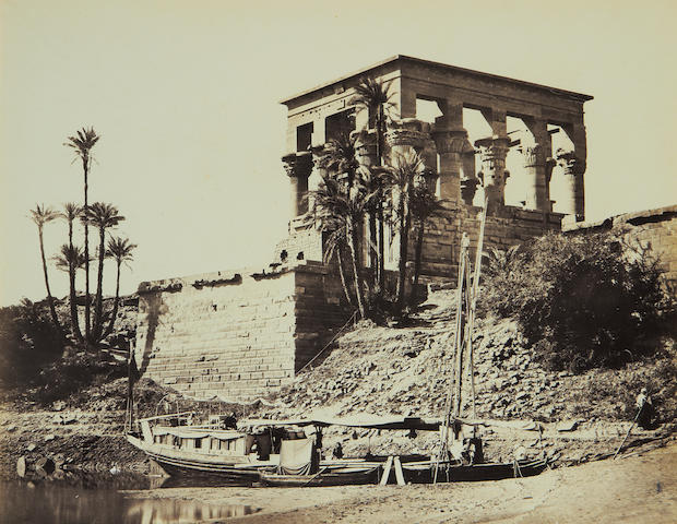 FRITH (FRANCIS) 'The Hypæthral Temple, Philæ', [c.1857]