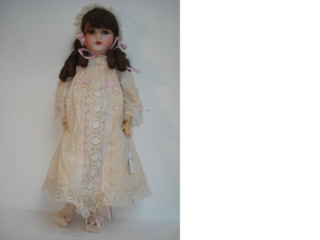 Otto Jager Friedrichroda 890 bisque head doll
